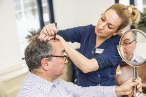 Intake haartransplantatie
