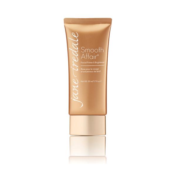 Smooth AffairPrimer & Brighteneris een make-up primer die ervoor zorgt dat je make-up makkelijk is aan te brengen en beter blijft zitten.
