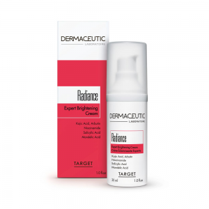 Verpakking en flesje Dermaceutic Radiance 30 ml.jpg