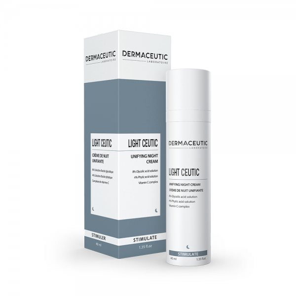 Verpakking en flesje Dermaceutic Light Ceutic