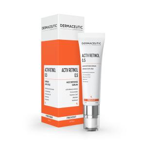 Verpakking en tube Dermaceutic Activ Retinol 0.5